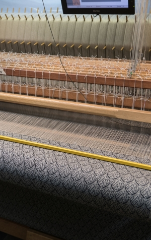 A different view of the loom