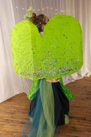 """Obladi oblada,"" Simone Wiley, model: Ellie Gilman, Lily Hanna, Simone Wiley, makers, Brunswick Jr. High School"