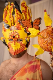 """""""Sun King,"""" Michael Gamage and Heather Goulette"""