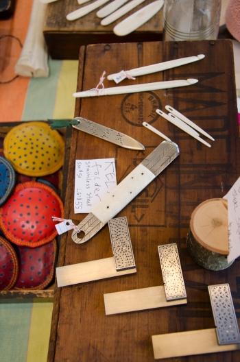 Shanna Leino's hand-built tools
