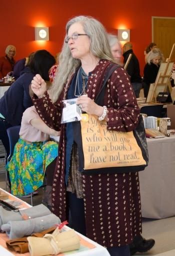 Book Arts Bazaar Visitors