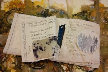 Velma Bolyard's handmade book
