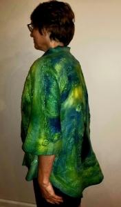 Nuno Felt Jacket (on model)