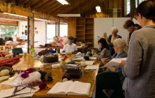 Katharine Cobey sculptural knitting class