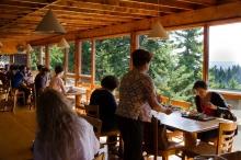 the Haystack cafeteria