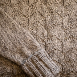 Mirehouse sweater pattern by Fiona Alice