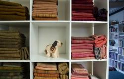 Dyed wool fabrics