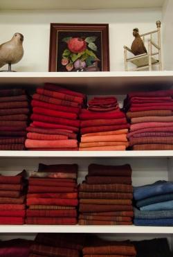 Wonderfully organized fabrics