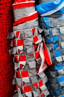Floors of interest fabrics.