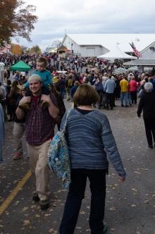 happy yarn-loving crowds