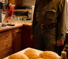 John the baker and his breads!