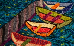 """""""Rowboats on the River"""" by Elaine Eskesen"""