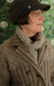 Handwoven, handspun coat