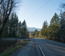 On the road to Quilcene