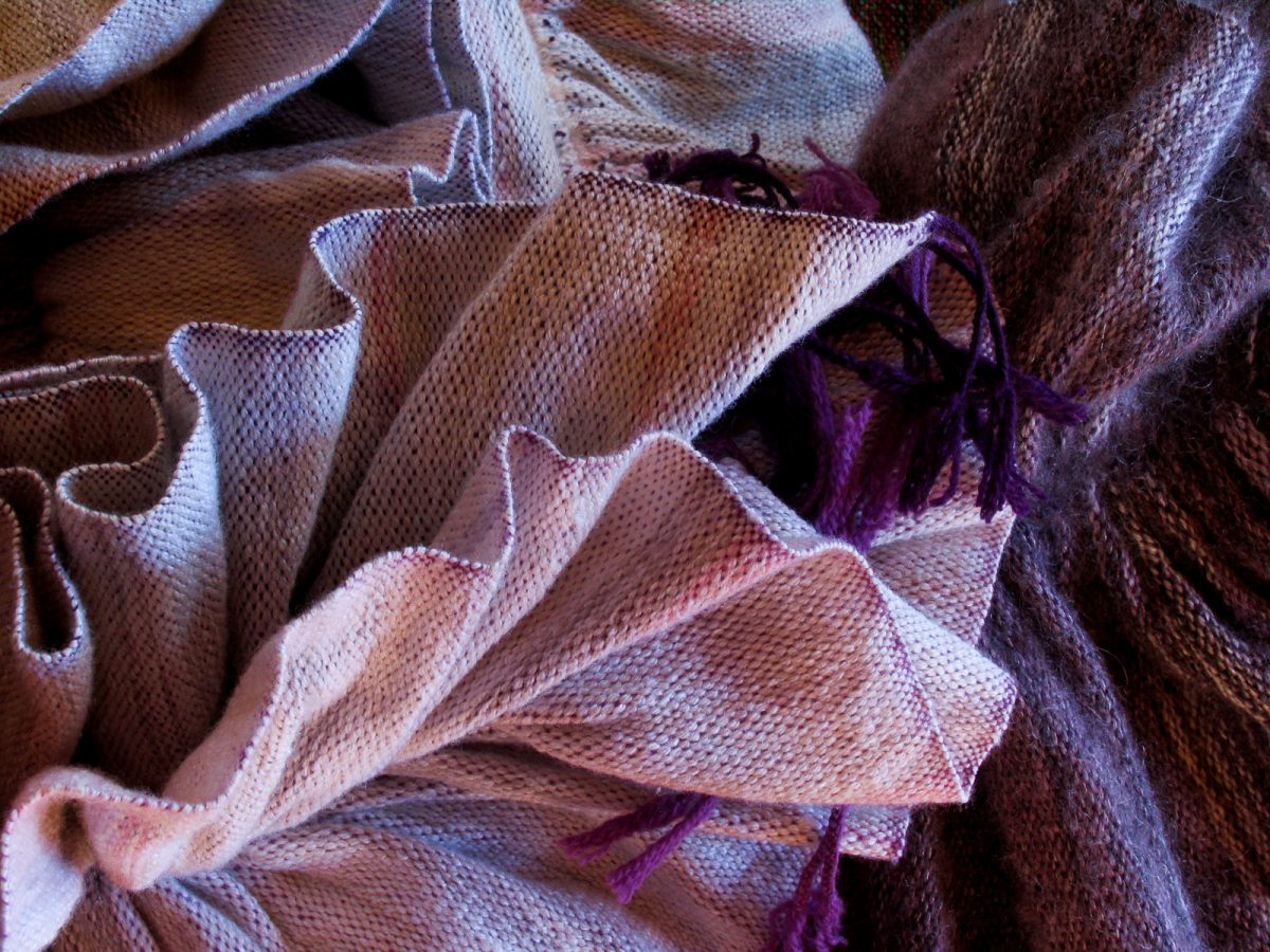 Woven Purples